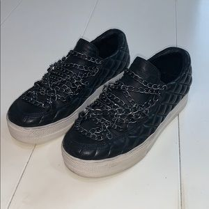 ASH CHAIN SNEAKERS